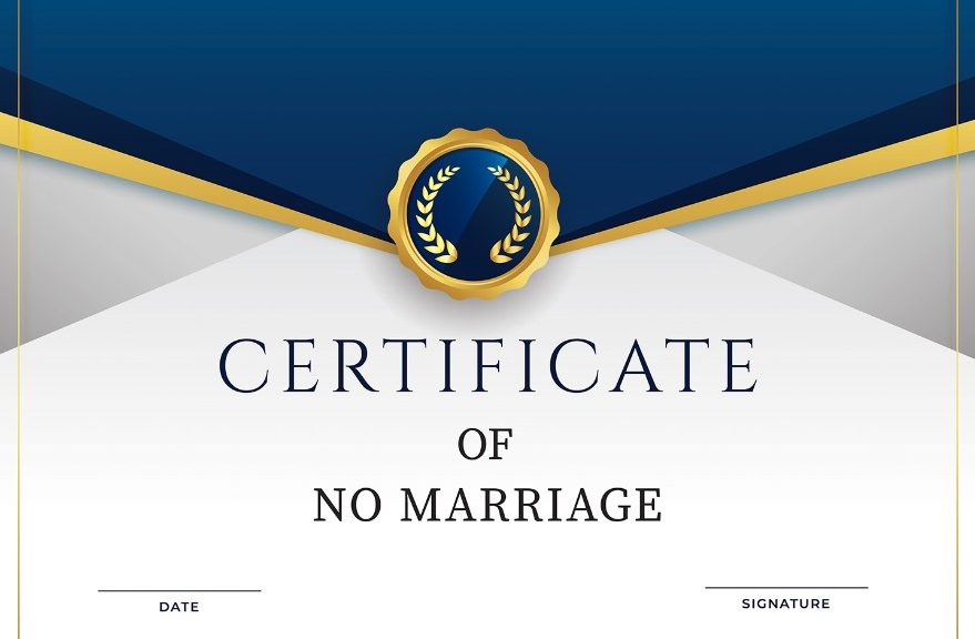 Read more about the article Bachelor/Single Status Certificate